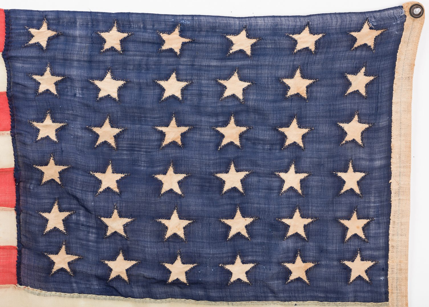 Lot 516: Civil War Annin & Co. 36 Star Flag