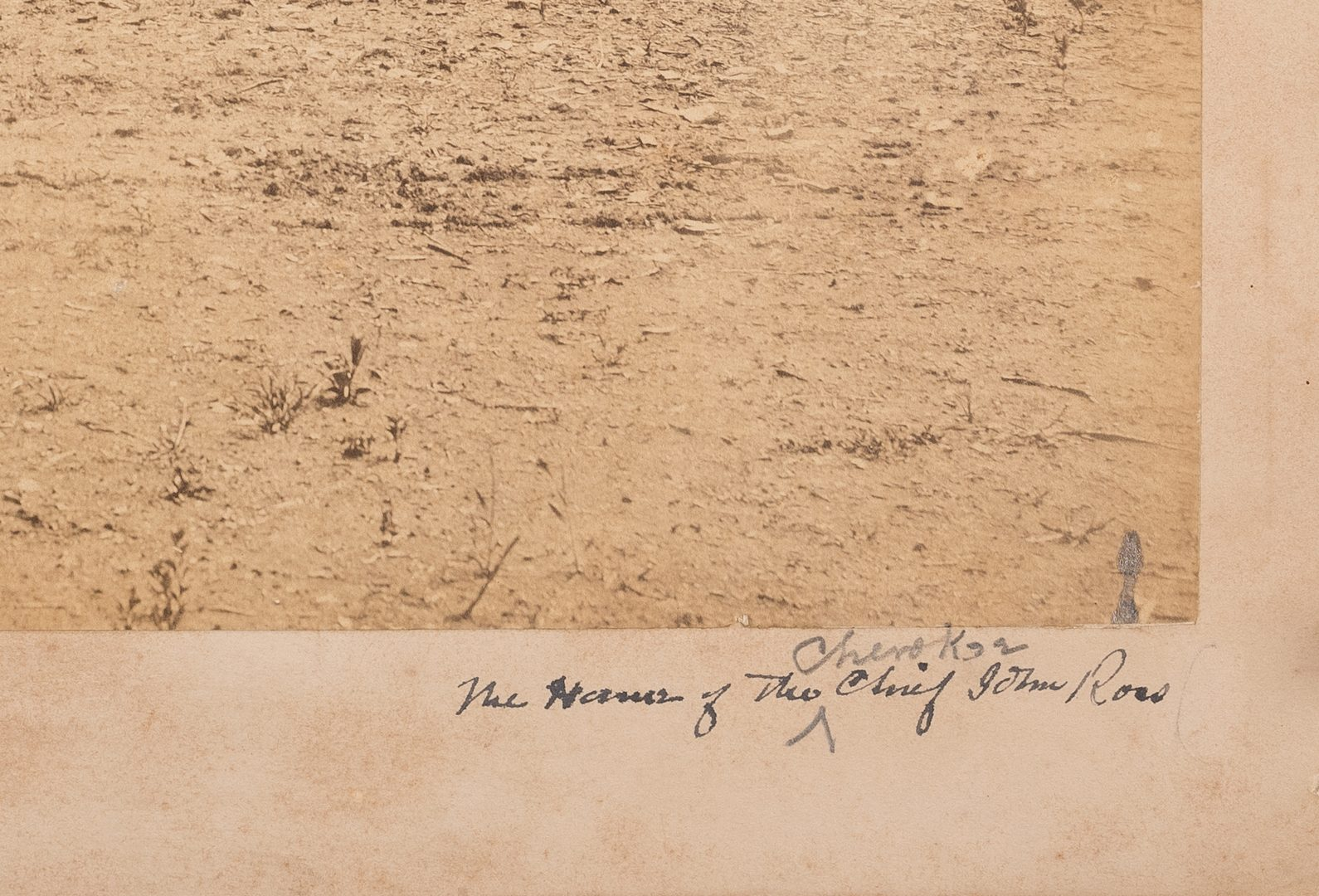 Lot 517: Civil War Photograph – Rossville Gap In Missionary Ridge