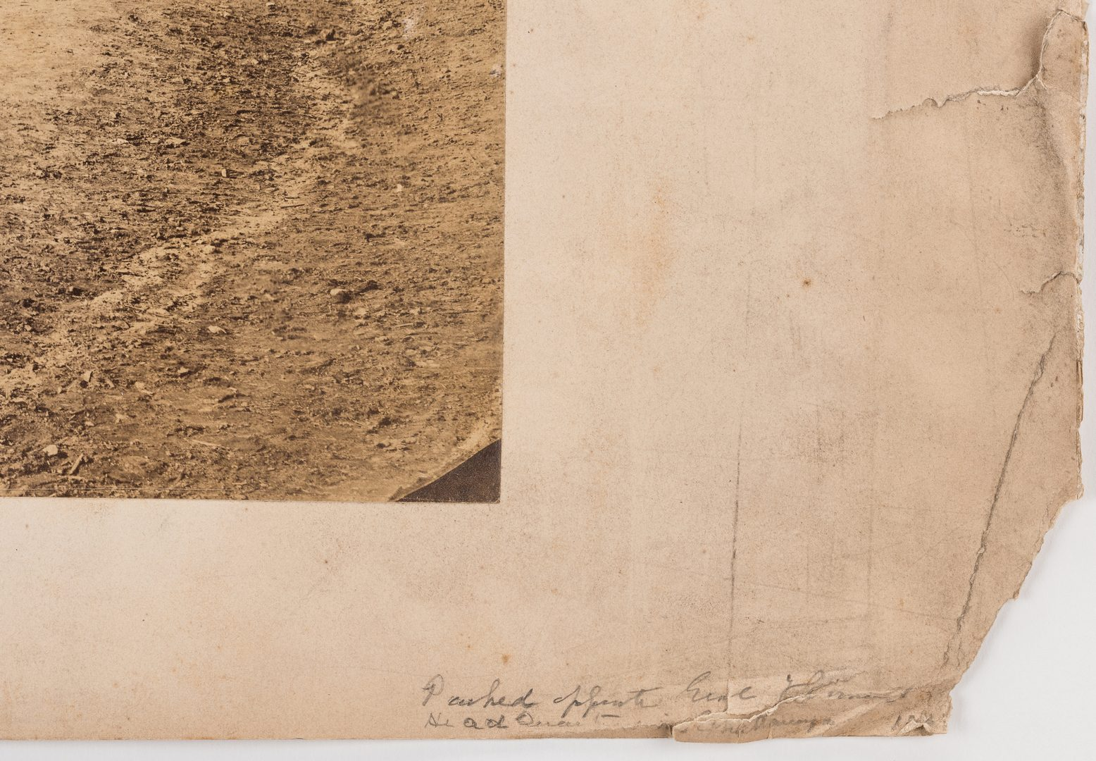Lot 518: Civil War Photograph, Battle of Chattanooga