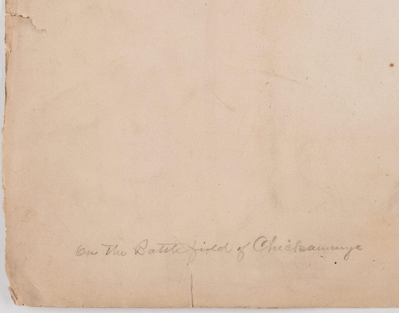 Lot 519: Civil War Photograph, Crawfish Springs Chickamauga