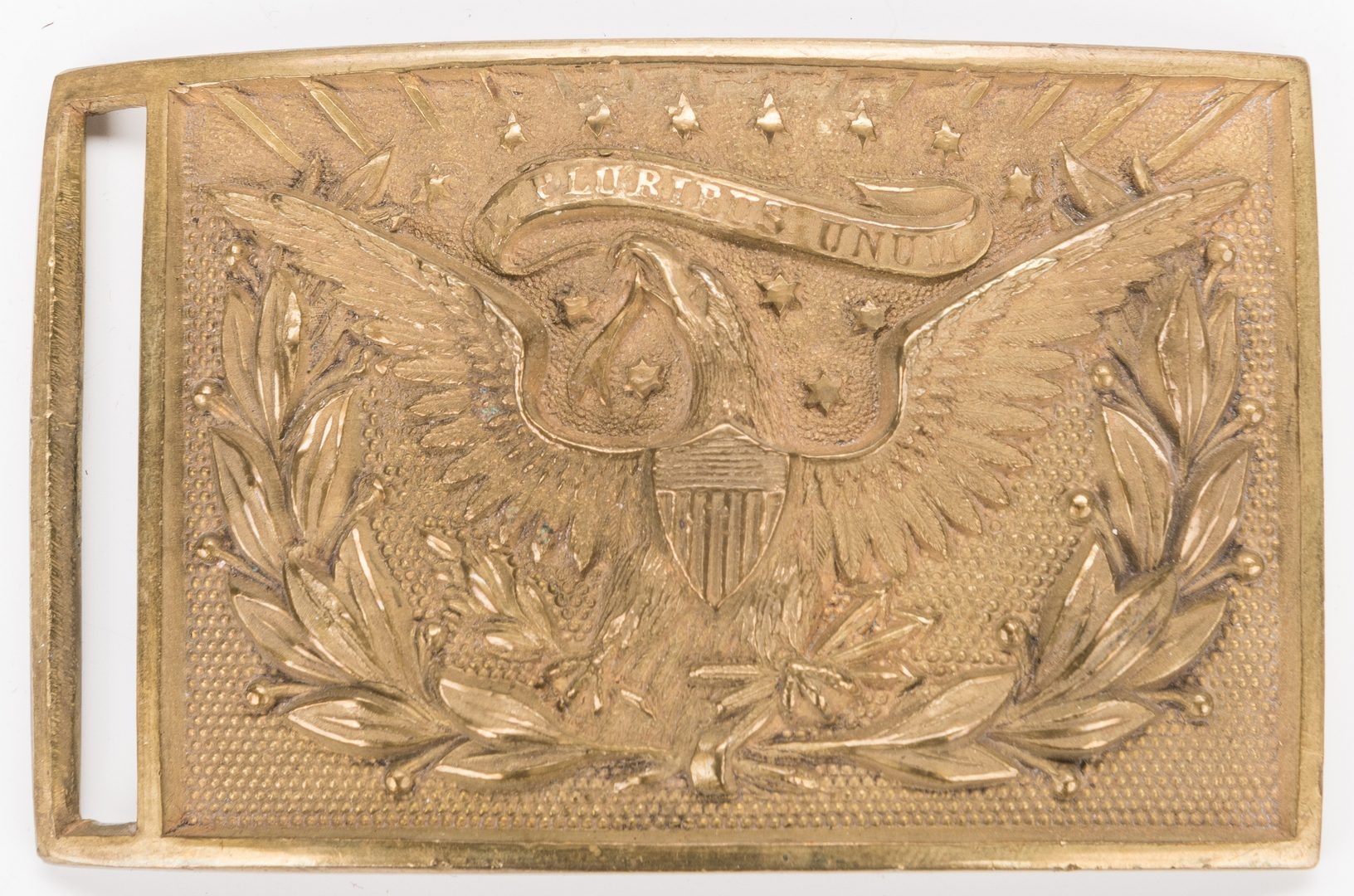 Lot 529: 3 Spanish-American and Indian War era items, inc. Canteen