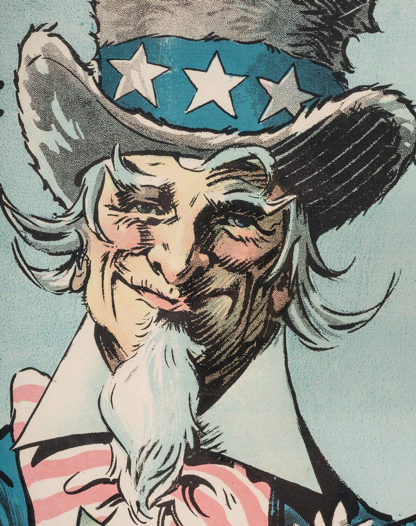 Lot 532: 4 American & French WWI Era Propaganda Posters