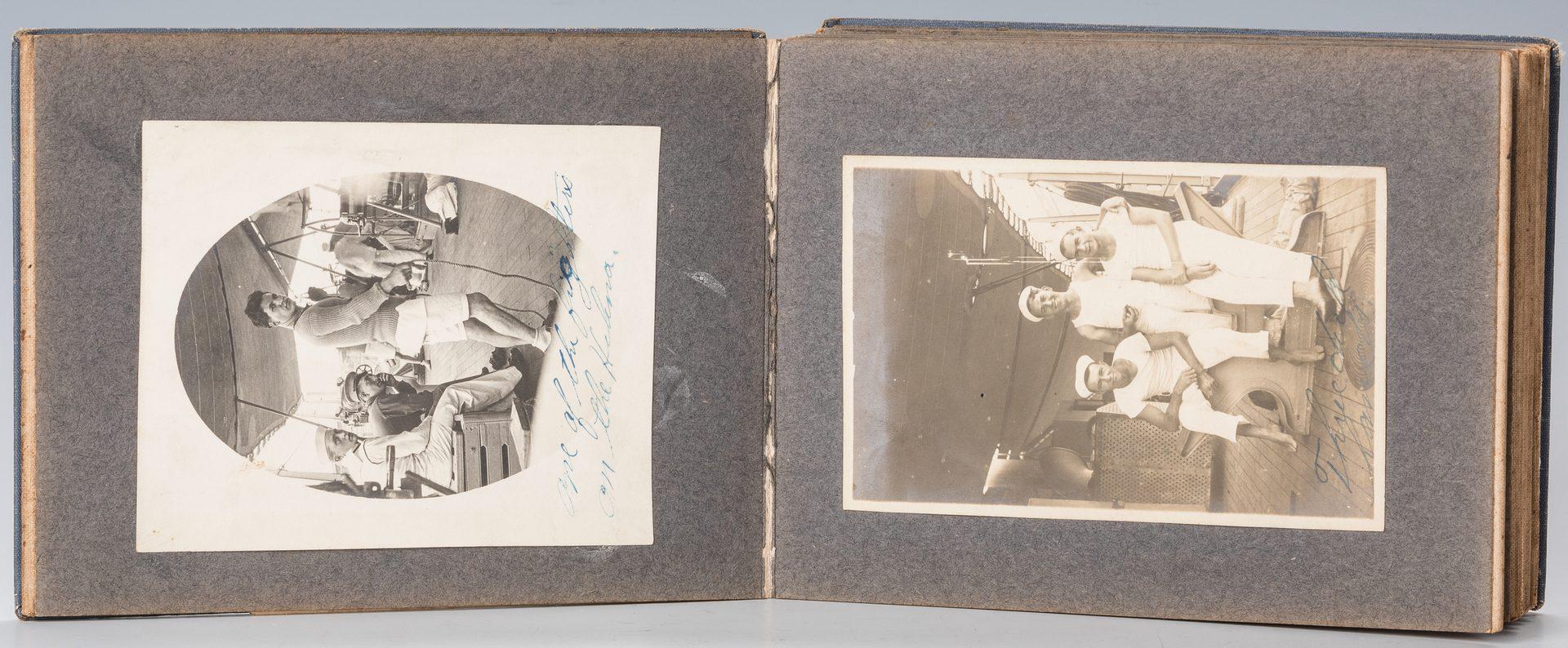 Lot 533: WWI Photo album inc. SMS Emden