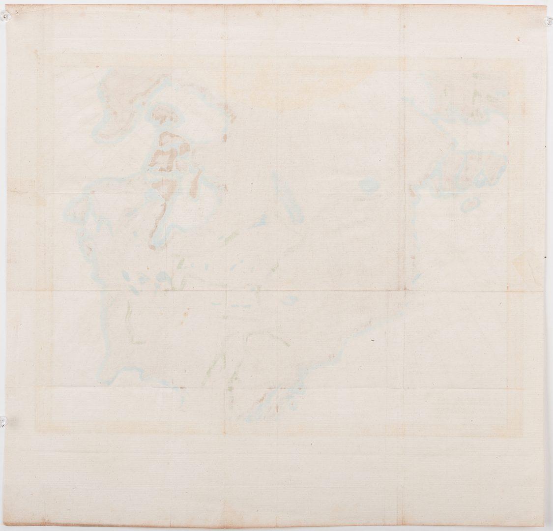 Lot 540: 2 18th Cent. Maps, inc. Van Jagen & Vaugondy