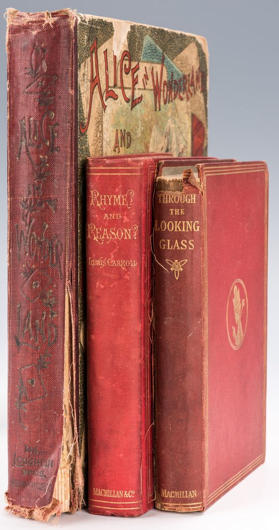 Lot 552: 3 Books by Lewis Carroll