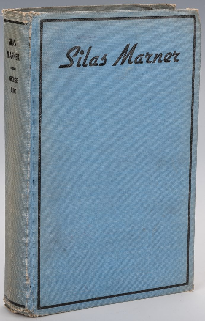 Lot 553: 11 Antiquarian Books, inc. Twain, Morris, Steinbeck