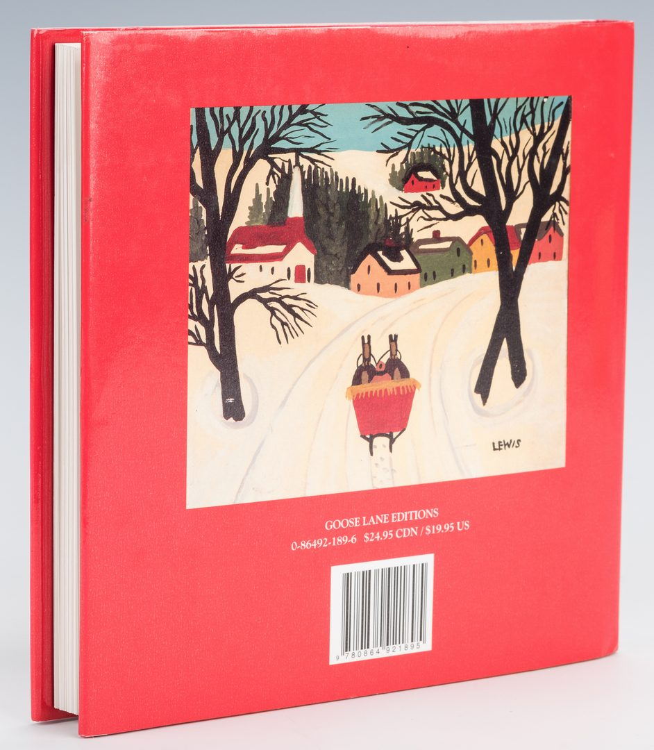 Lot 554: Book – Christmas with Maud Lewis, 1st Ed.