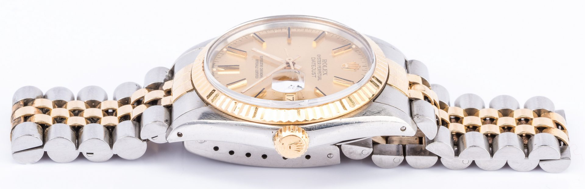 Lot 56: Rolex Datejust Gents Watch Steel/gold