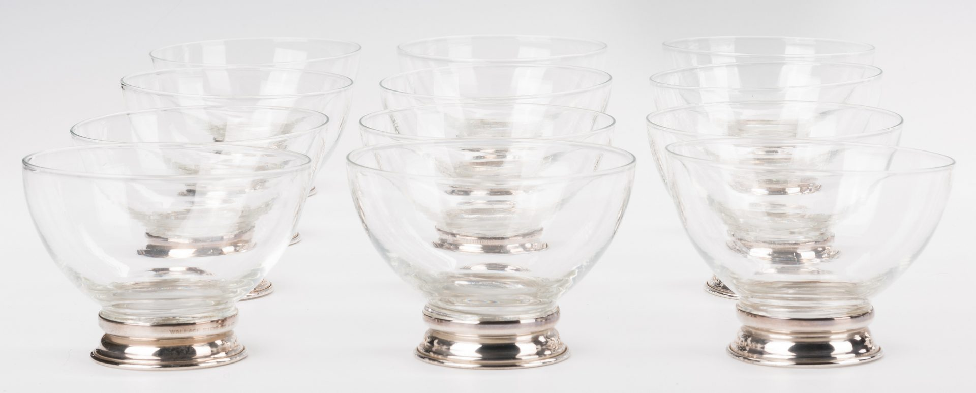 Lot 570: 25 pcs Sterling Table Ware