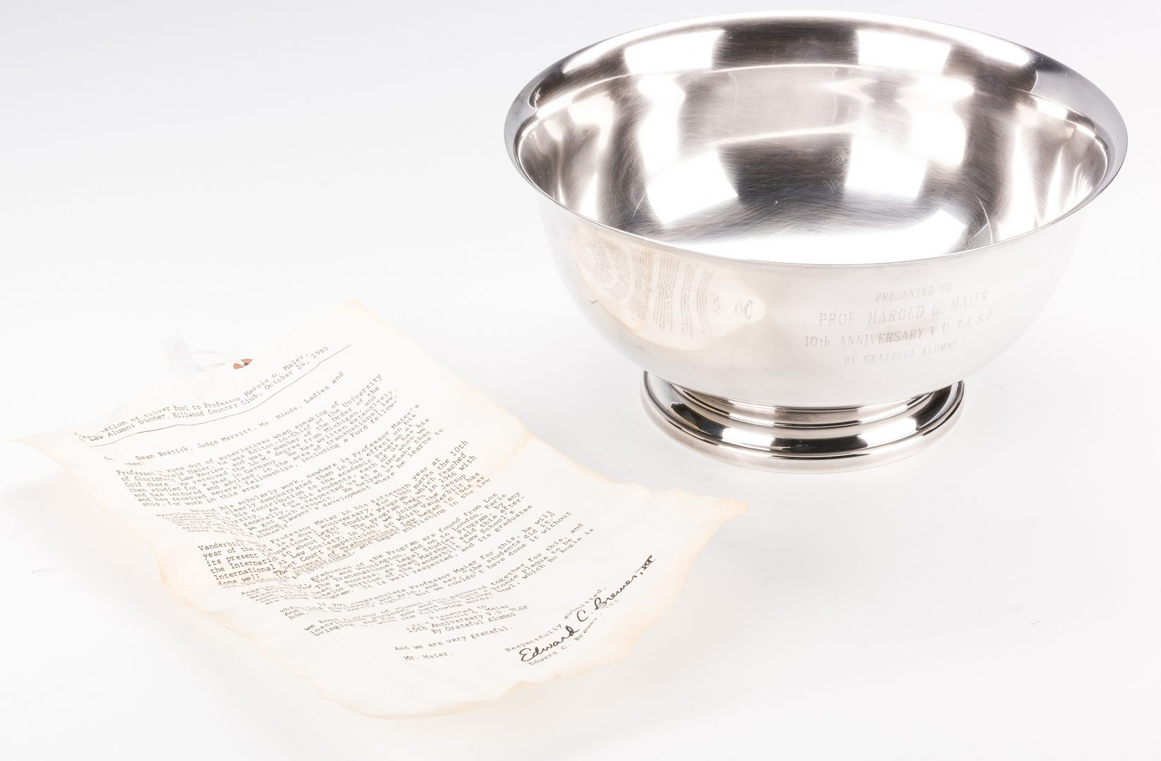 Lot 577: Gorham Sterling Revere Bowl