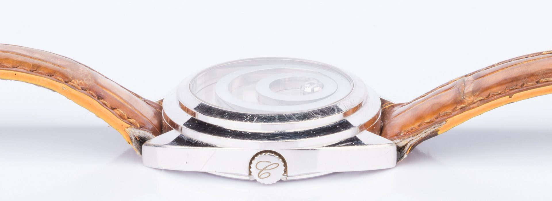 Lot 57: 18K Chopard Happy Spirit Watch w/ Box