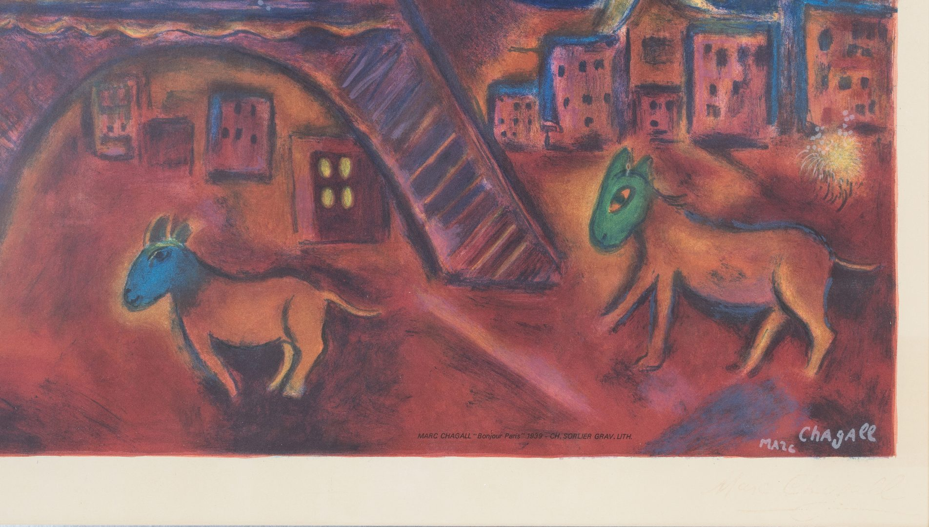 Lot 595 2 Prints After Chagall And Miro