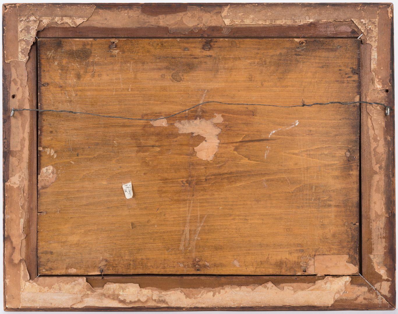 Lot 605: 2 Paintings, inc. G. Gillespie Landscape