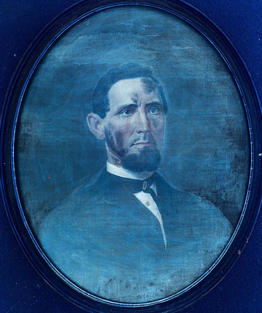 Lot 612: Attr. Washington Cooper, Portrait of a Man