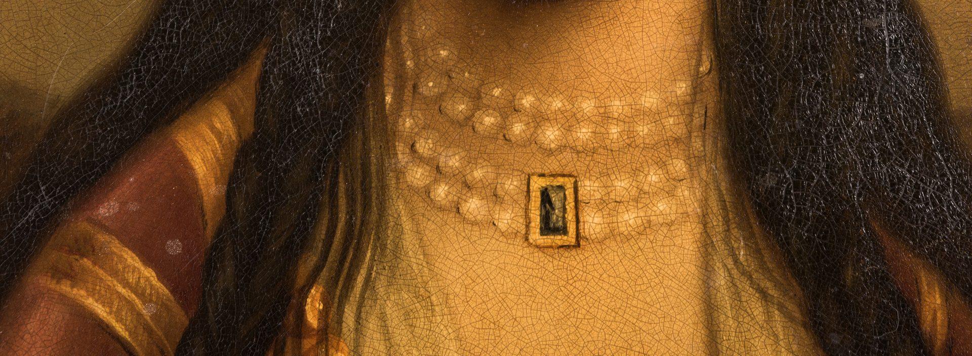 Lot 616: German Orientalist Portrait of a Woman
