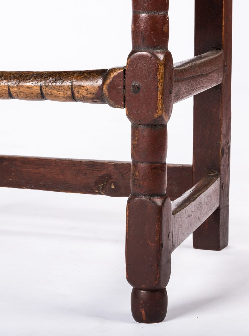 Lot 623: 7 Continental Chairs, 17th century