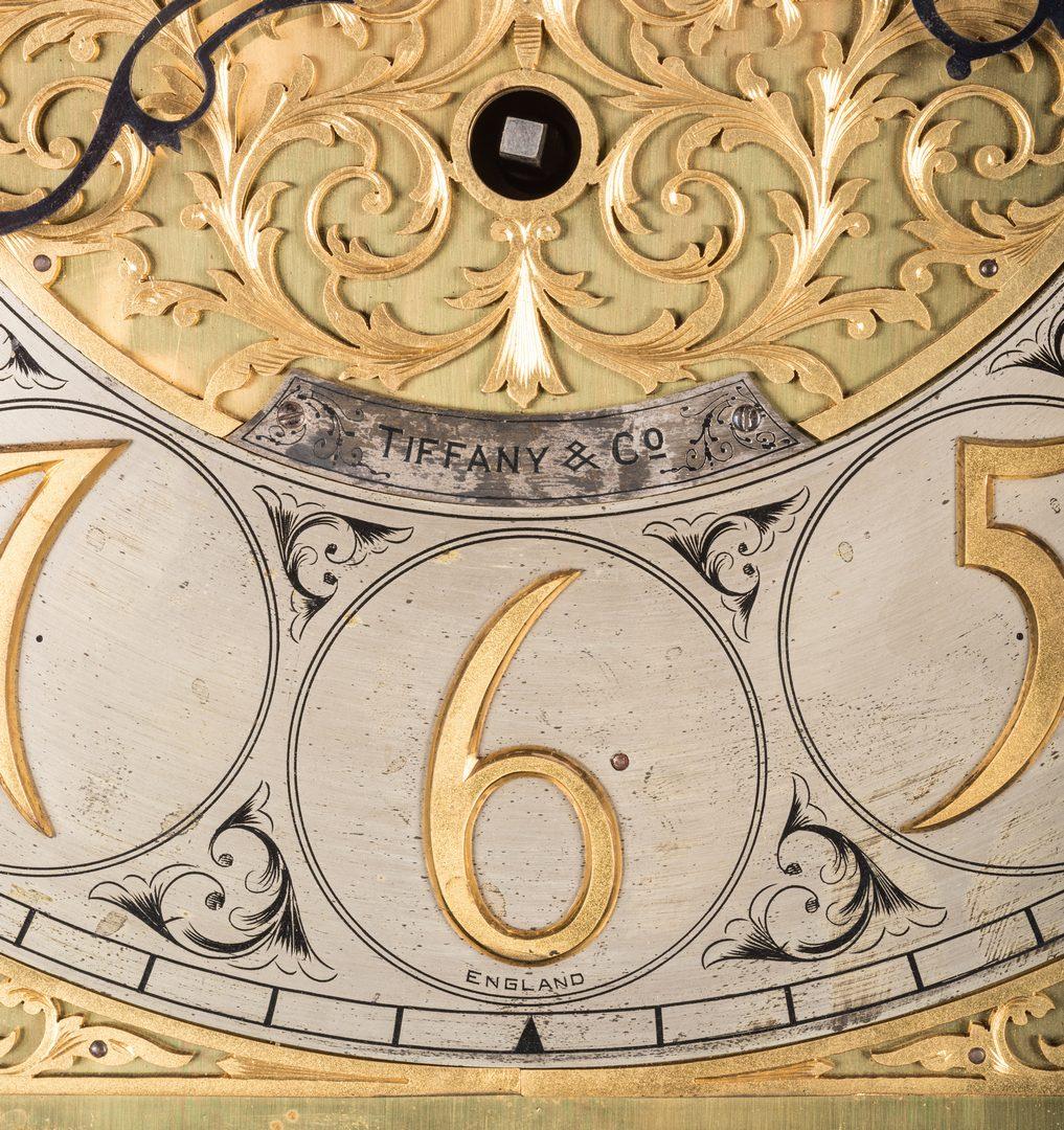 Lot 626: Tiffany 5 Tube Chime Tall-Case Clock