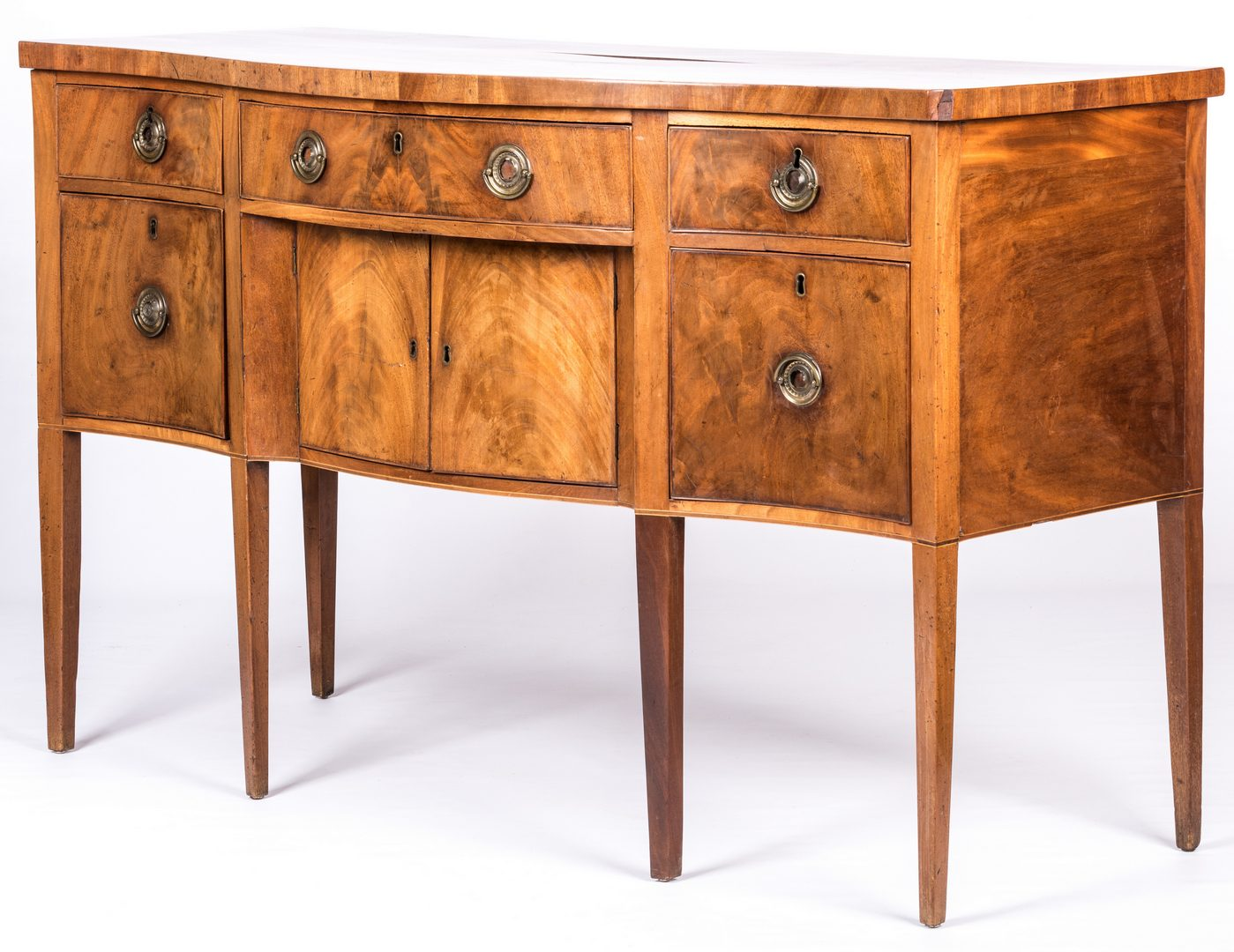 Lot 629: Southern Federal Mahogany Sideboard