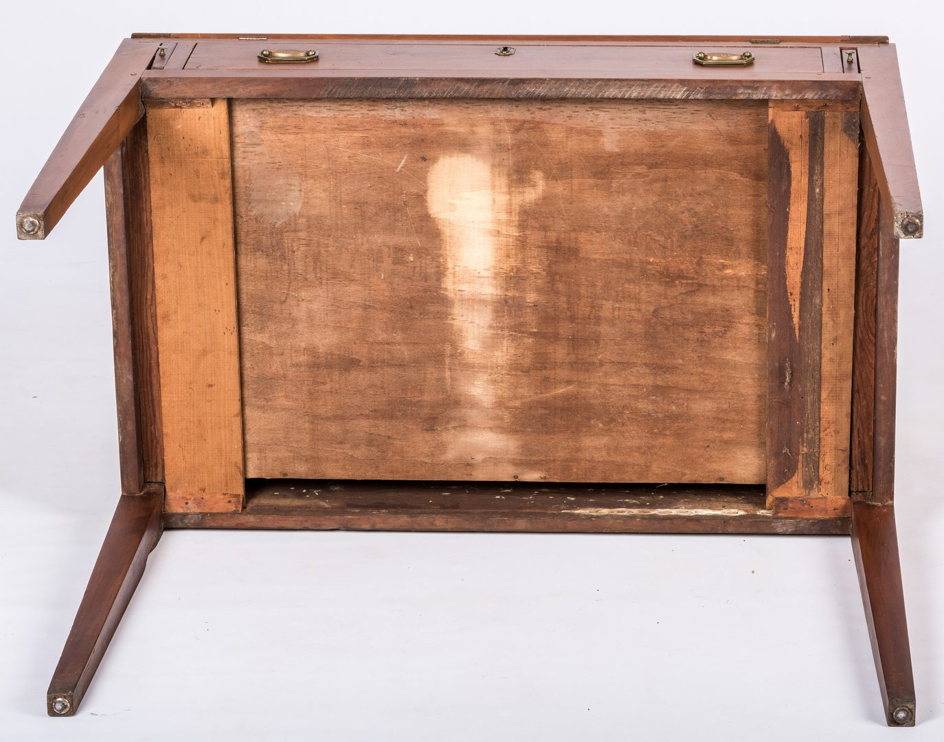 Lot 632: Tennessee Cherry Desk and Bookcase