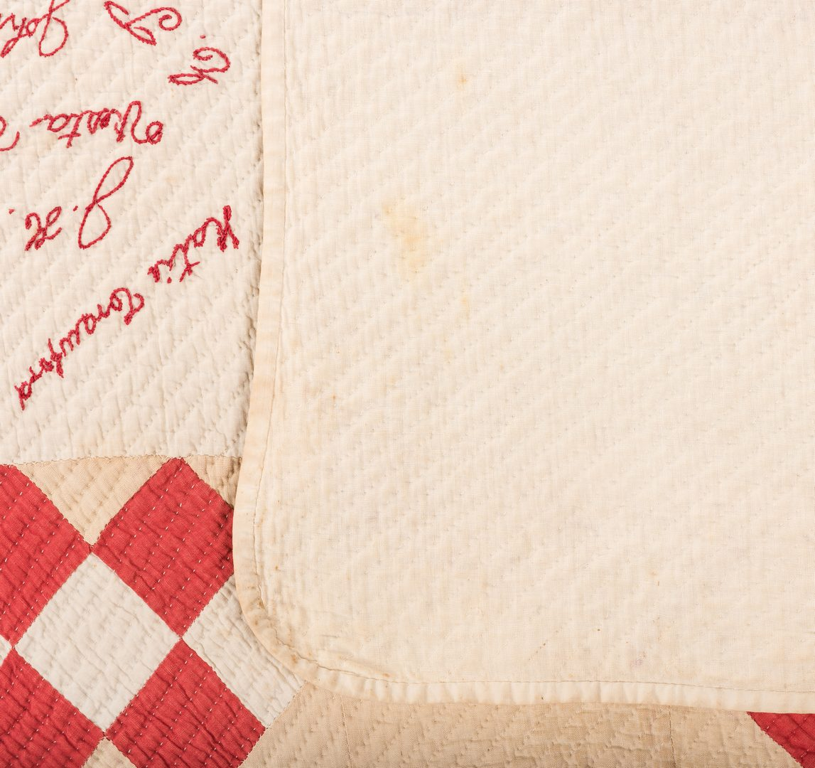 Lot 635: Dayton, TN Album Quilt 1892