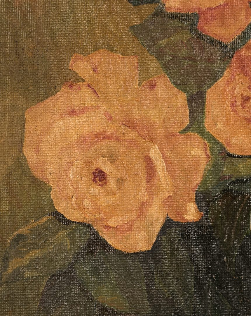 Lot 656: Helen LaFrance Still Life with Roses