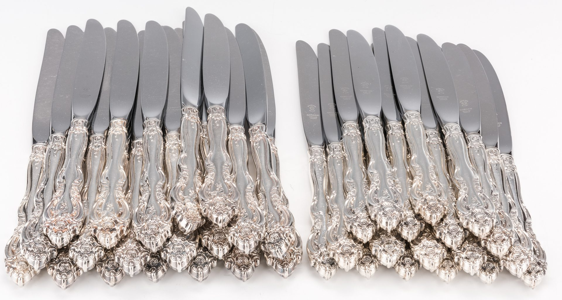 Lot 66: Gorham La Scala Sterling Flatware & more, 145 pcs.