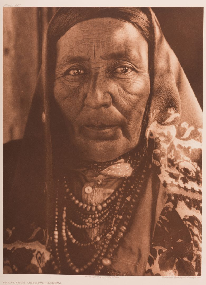 Lot 676: 4 Edward S. Curtis Photogravures