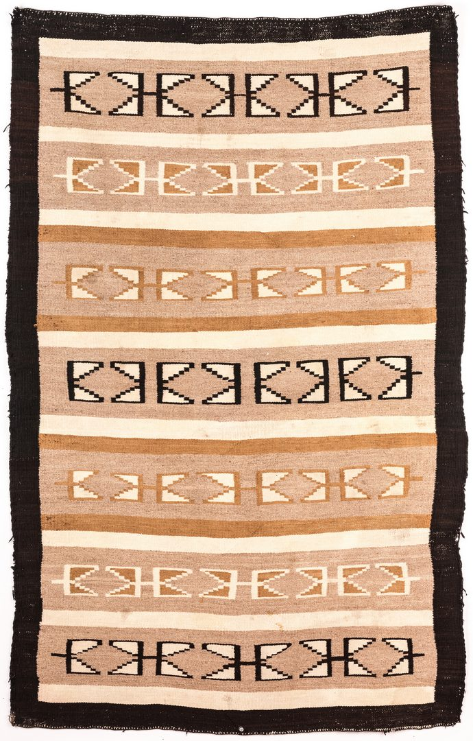 Lot 677: 2 Navajo Wide Ruins or Chindle Rugs
