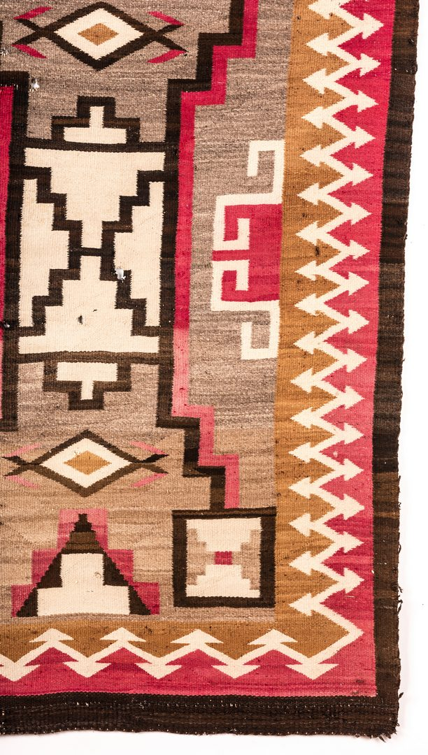 Lot 678: 3 Navajo Rugs