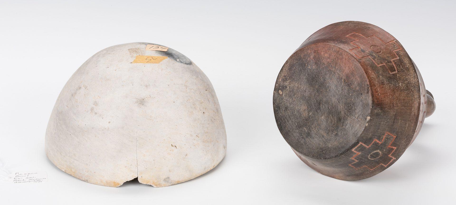 Lot 679: Anasazi, Peruvian, & Pre Columbian Vessels, Total 10