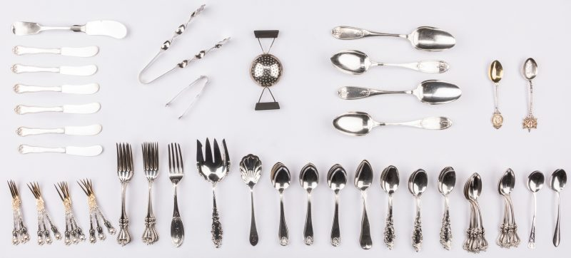 """Imperial Queen by Whiting Sterling Silver Salad Fork 3-Tine 6 1//4/"""""""