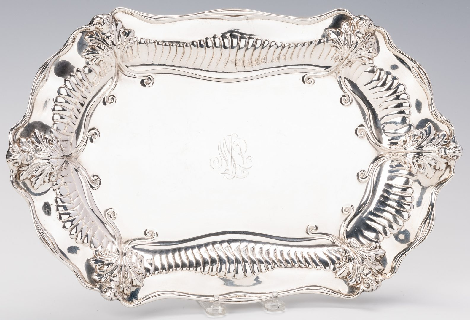 Lot 697: Dominick and Haff Sterling Tray