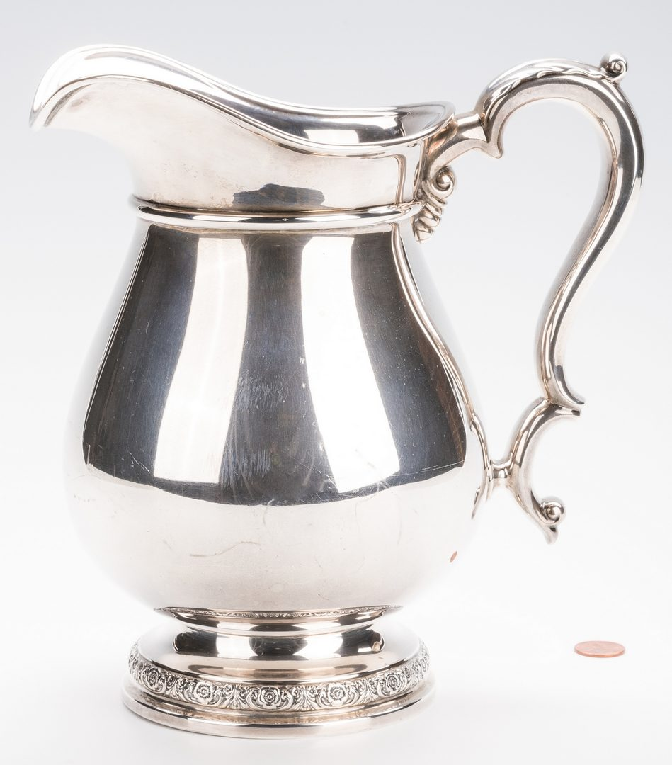Lot 702: International Prelude Sterling Water Pitcher