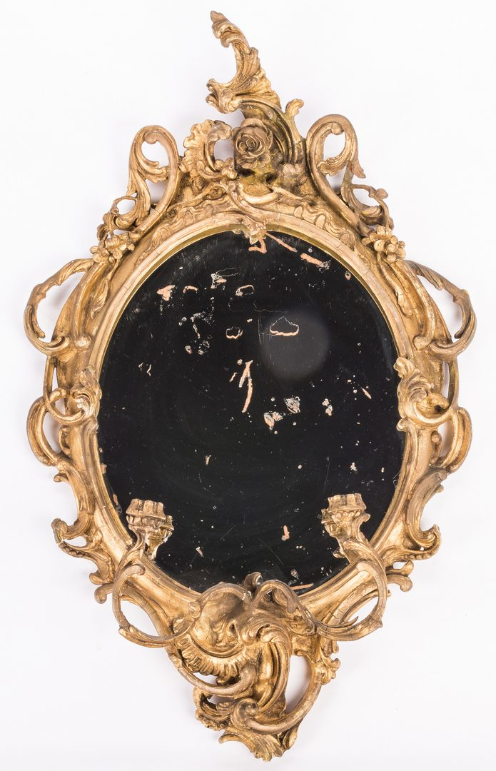Lot 729: Pr. George III Girandole Mirrors