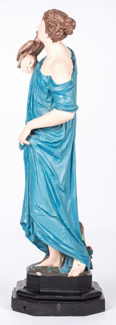 Lot 732: JW Fiske Statue of Virtue