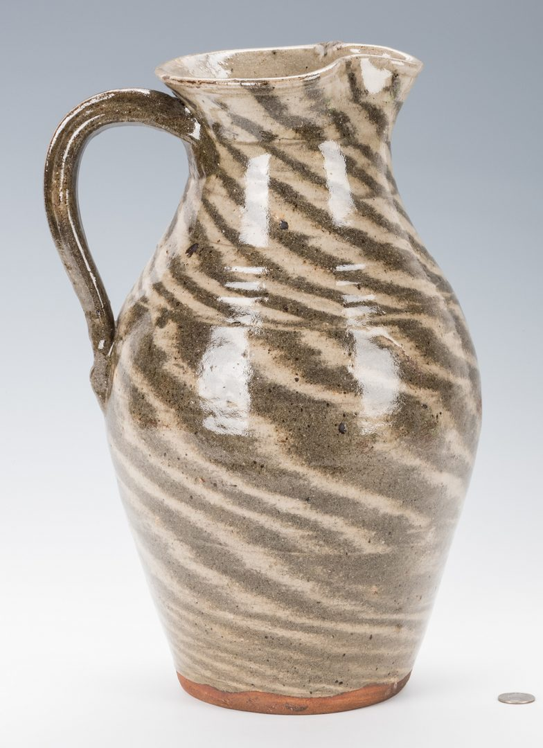 Lot 742: NC Burlon Craig Pottery Pitcher