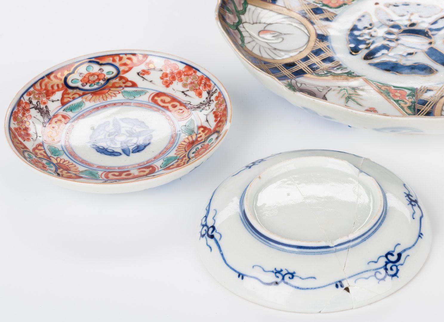 Lot 763: Group of 36 Japanese Imari or Arita Porcelain Pcs