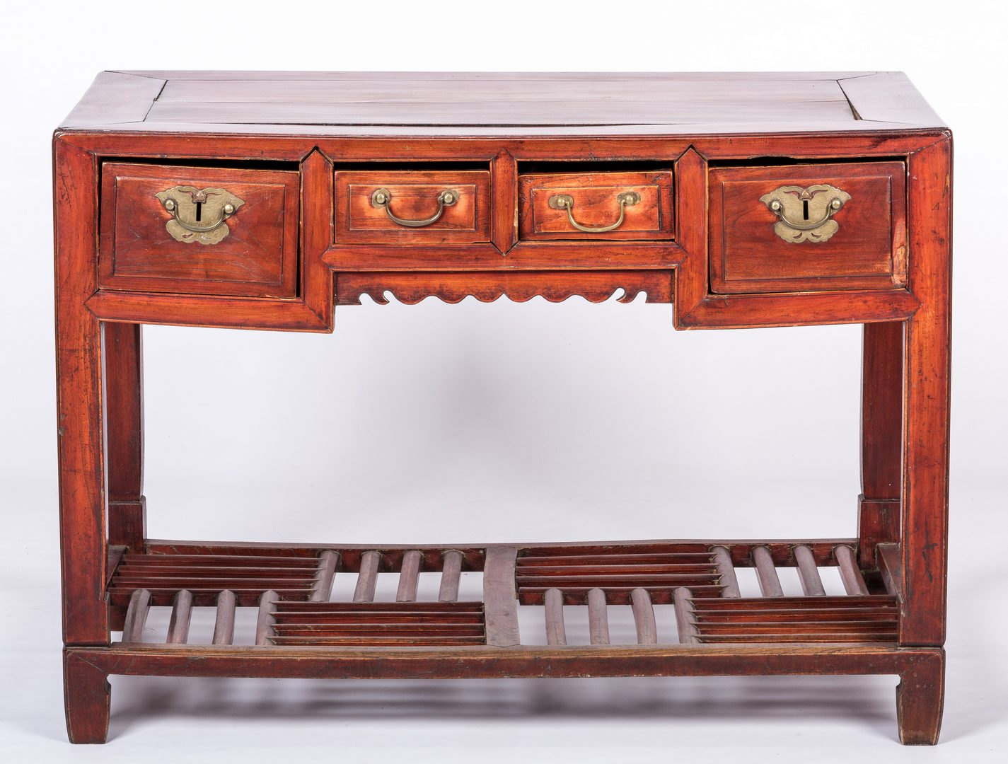 Lot 769: Chinese Hardwood Desk