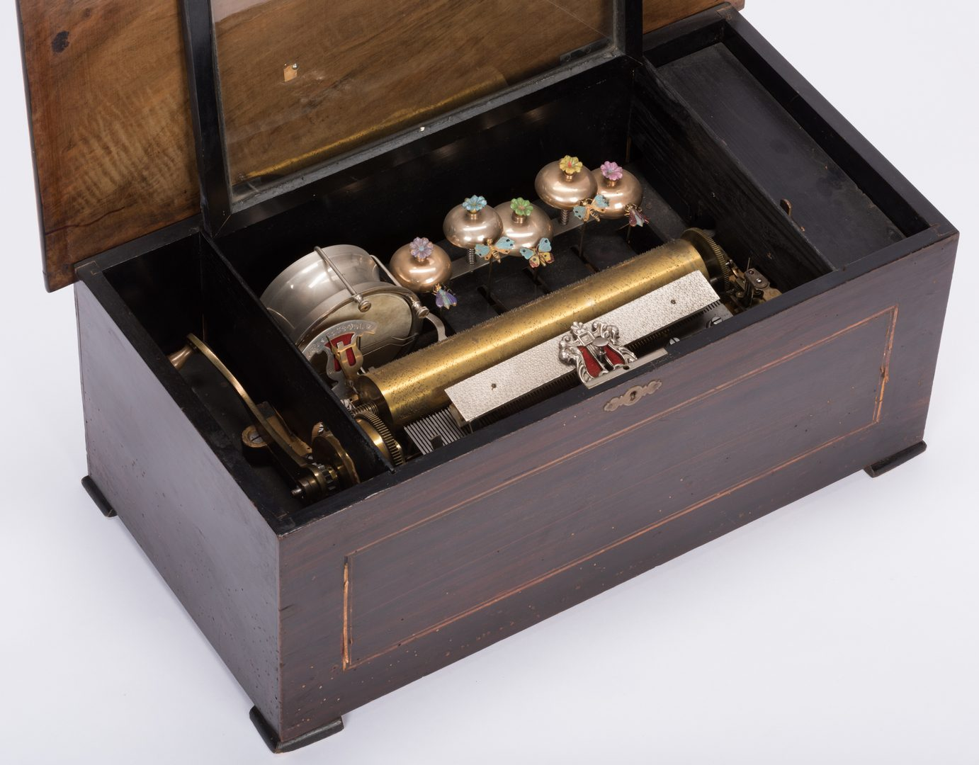 Lot 783: 12 Air Orchestral Swiss Cylinder Music Box