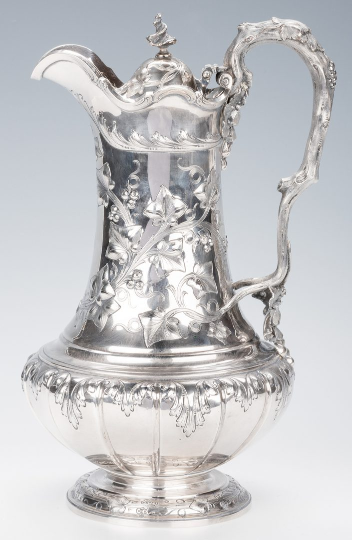 Lot 78: George Sharp, Bailey & Co. Sterling Silver Ewer