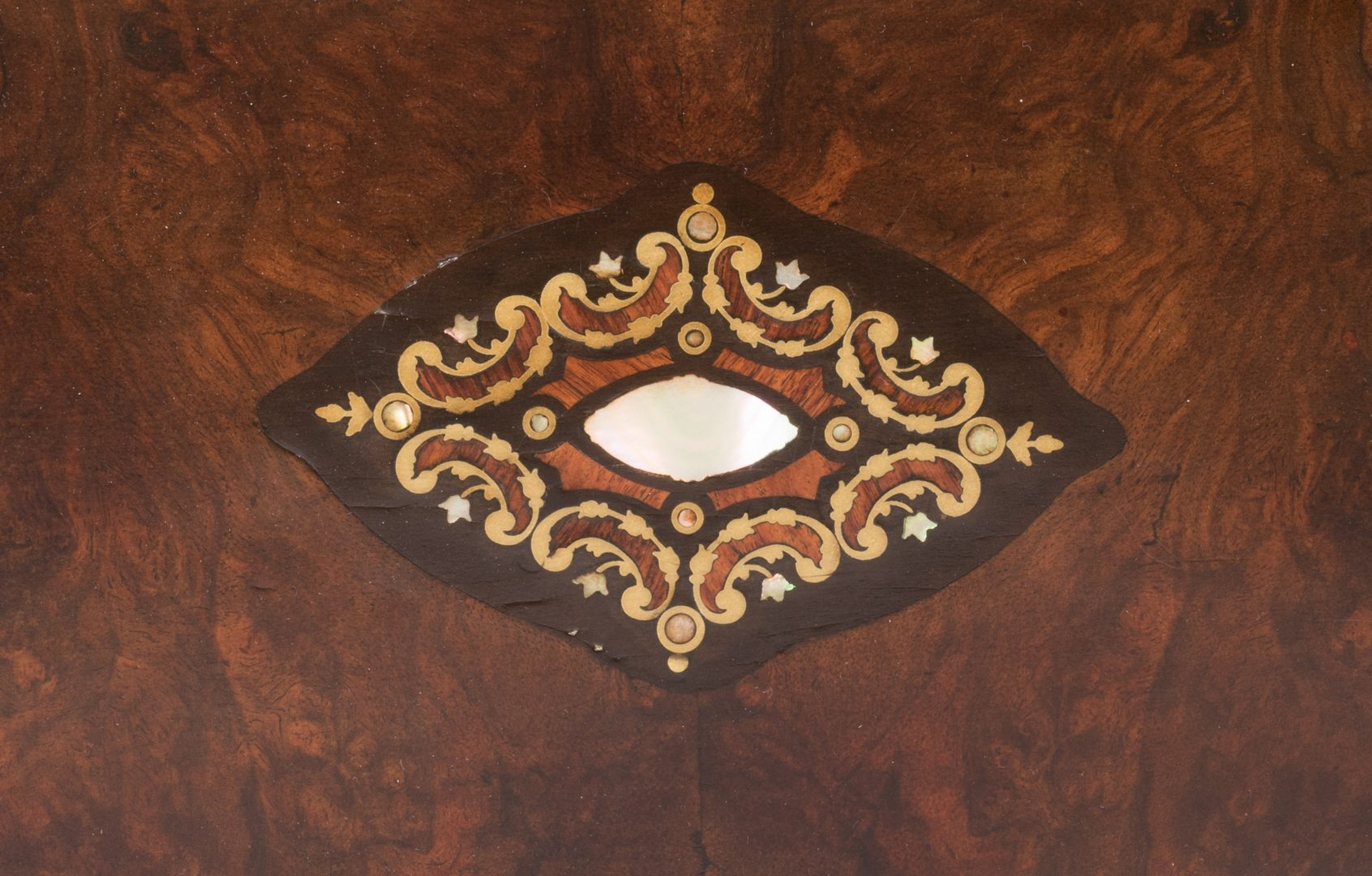 Lot 790: Swiss Marquetry Cylinder Music Box