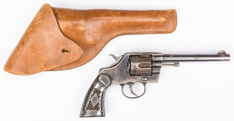 Lot 793: Colt Model 1895 New Army & Navy Revolver, .41 Caliber