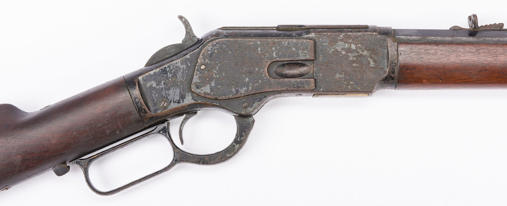 Lot 795: Winchester Model 1873, 32-20 Win Lever Action Rifle