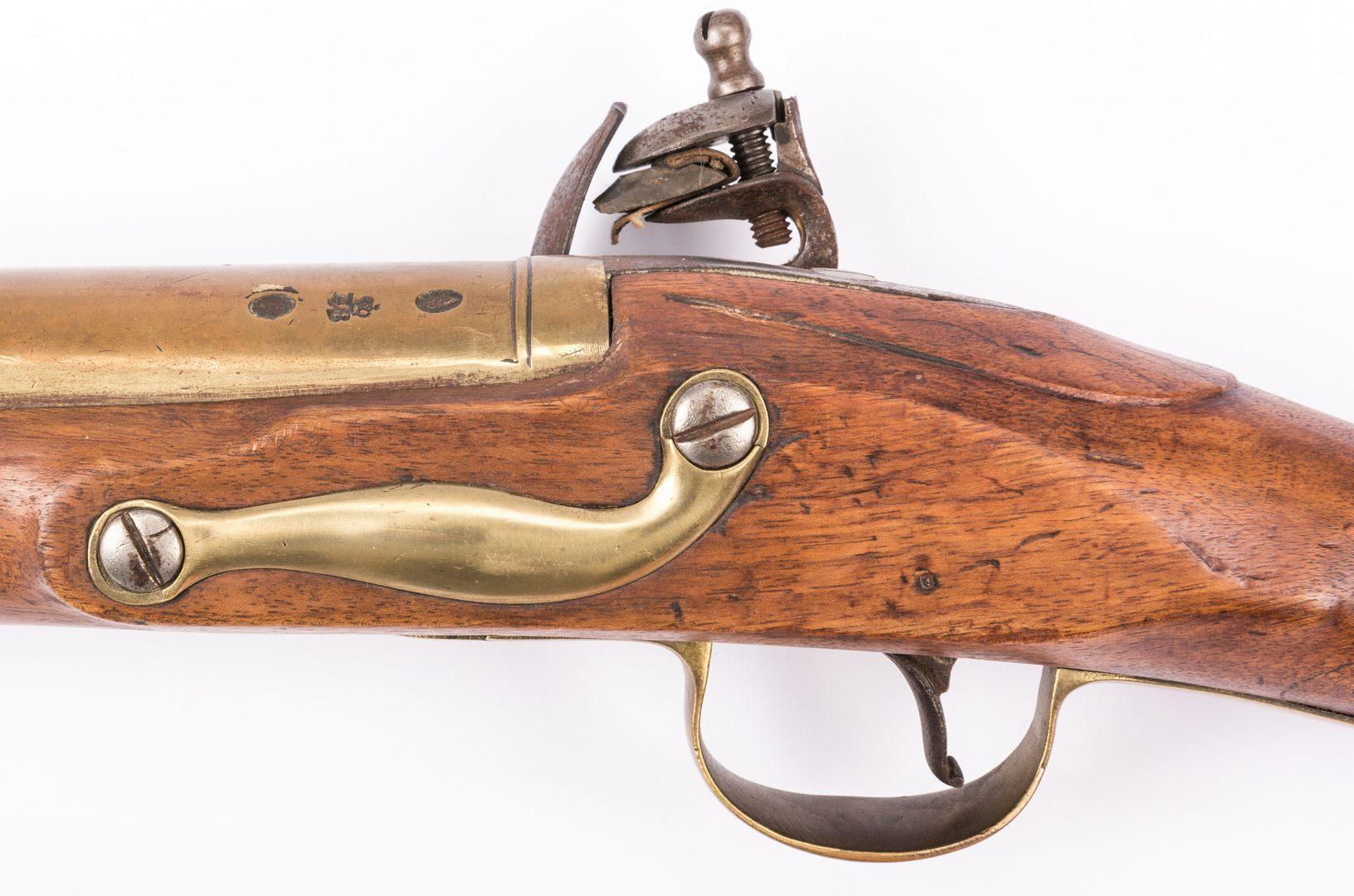 Lot 796: English Flintlock Blunderbuss Pistol