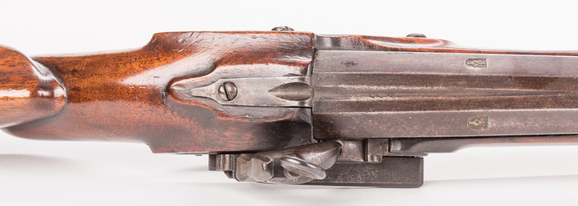 Lot 797: Spanish Miquelet Wall or Rampart Musket