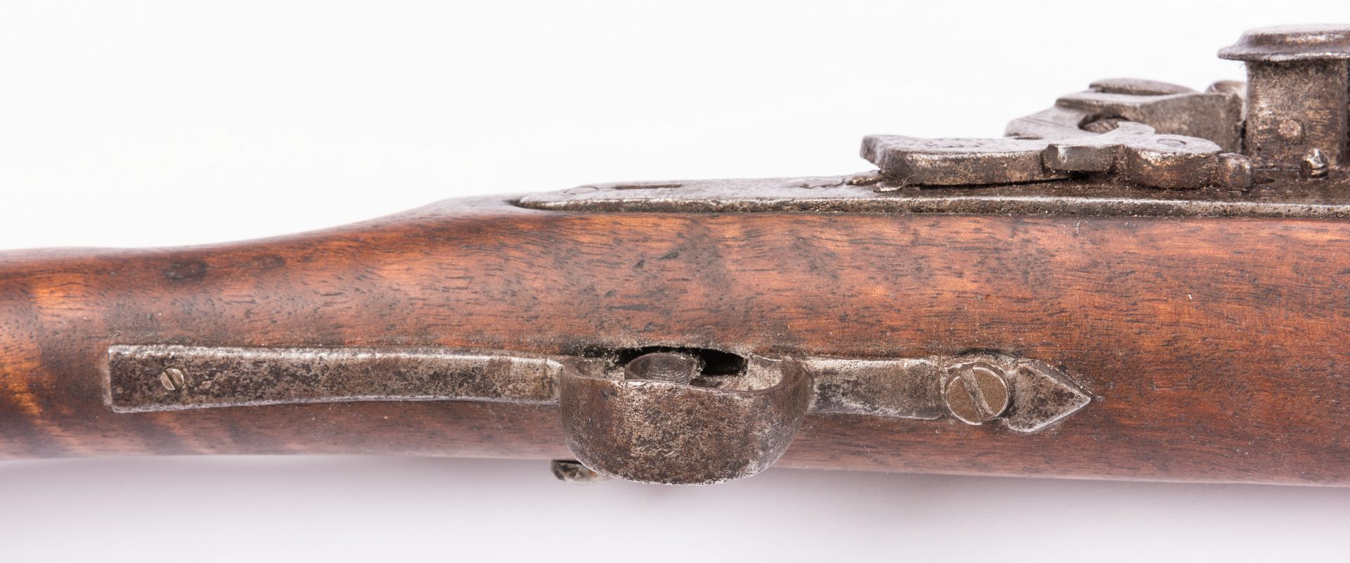Lot 800: Middle Eastern Snaphaunce Lock Rifle, .70 Cal.