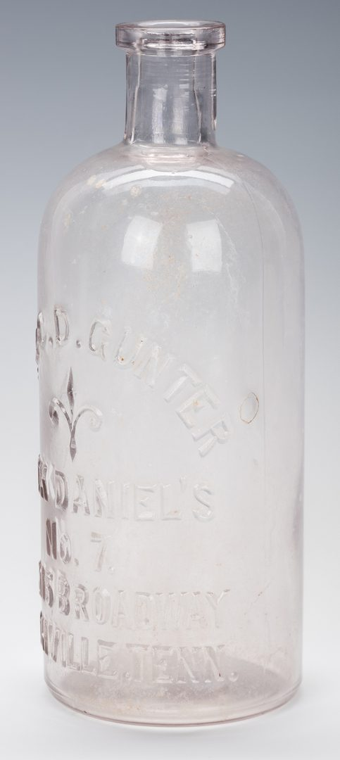 Lot 803: Gunter Jack Daniels Whiskey Bottle