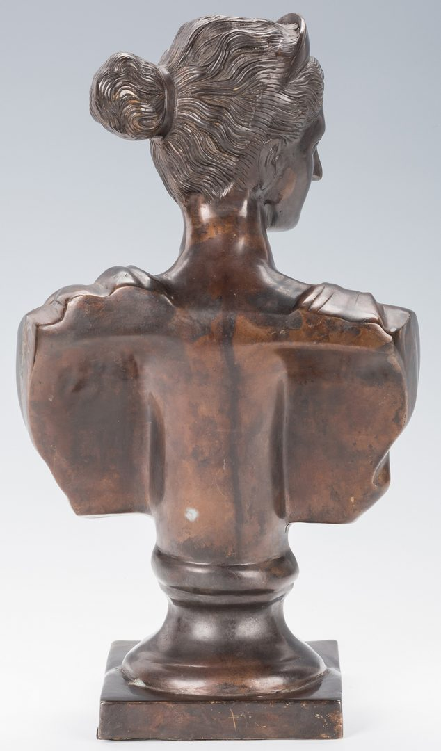 Lot 817: French School Classical Style Bronze Bust