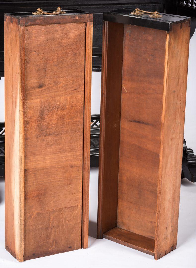 Lot 823: Aesthetic Movement Ebonized Lady's Desk