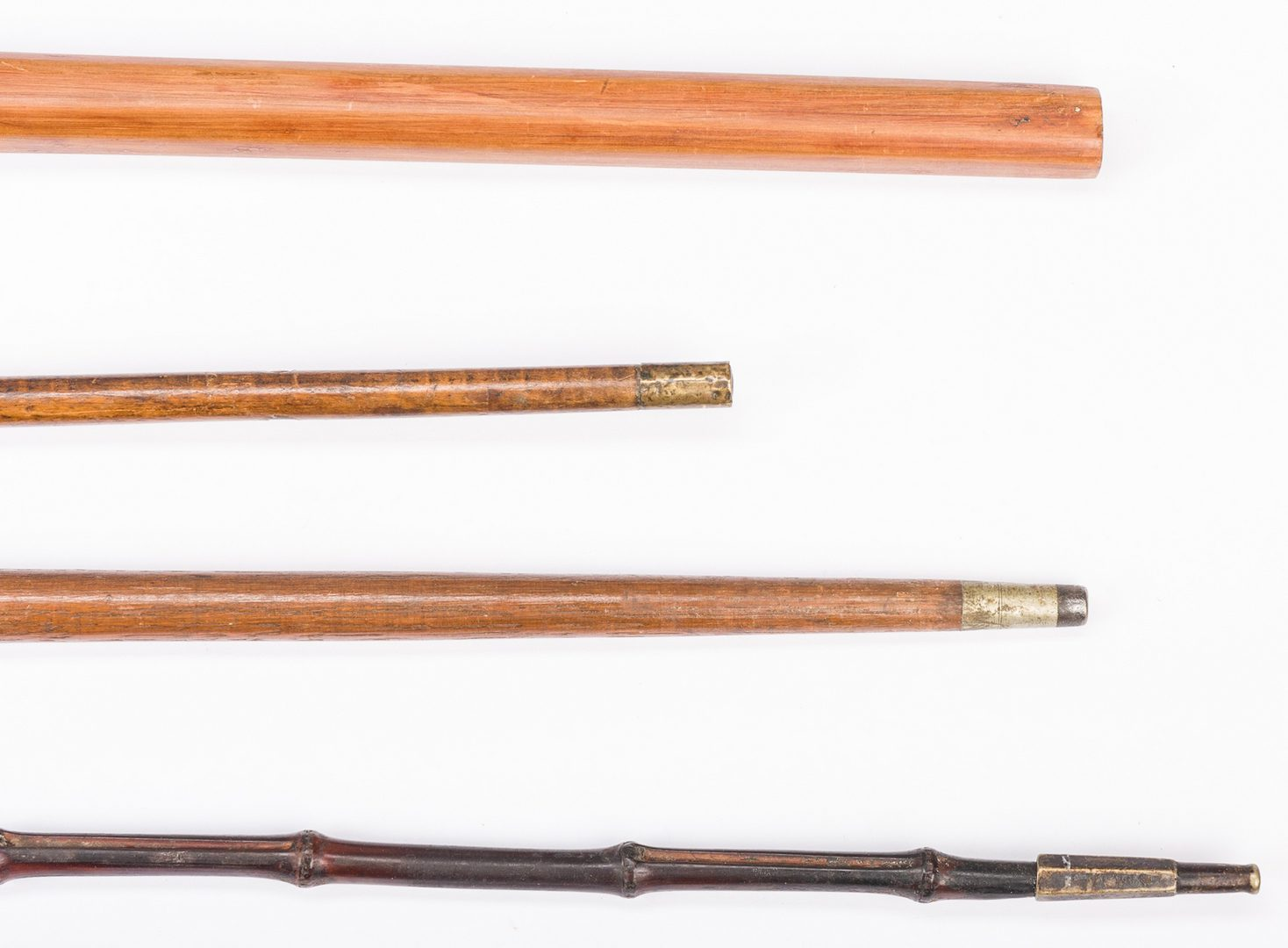 Lot 826: 4 Walking Sticks, incl. Puzzle Stick